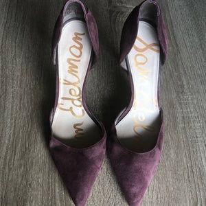 Sam Edleman Deliah suede heels